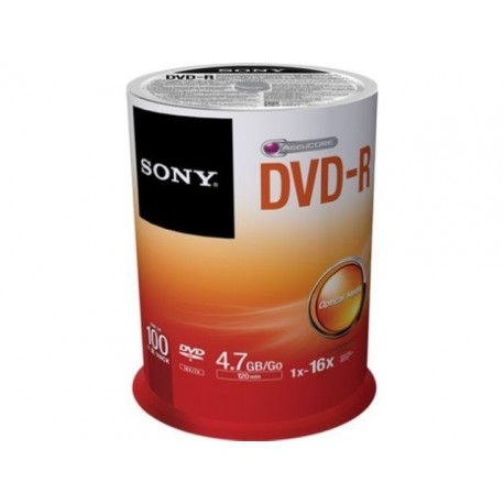 DVD-R SONY x16 4,7GB (Cake 100)