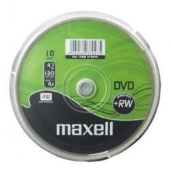 DVD+RW MAXELL 4,7 GB 4X CAKE 10szt