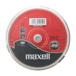 DVD-RW MAXELL 4,7 GB 2X CAKE 10szt