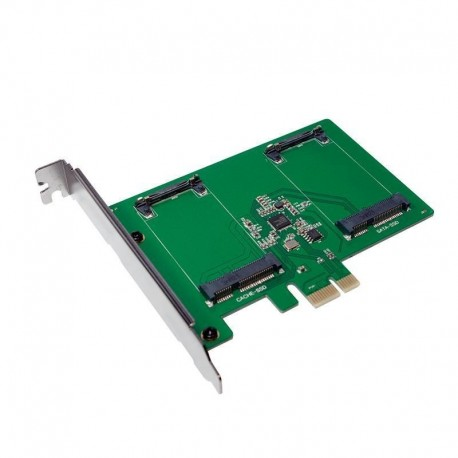 Kontroler PCI Express LogiLink PC0078 2x mSATA SSD