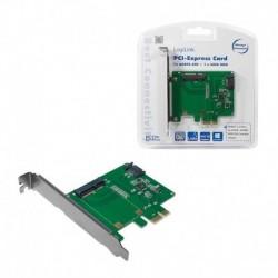 Kontroler PCI Express LogiLink PC0077 1x mSATA SSD + 1x SATA HDD