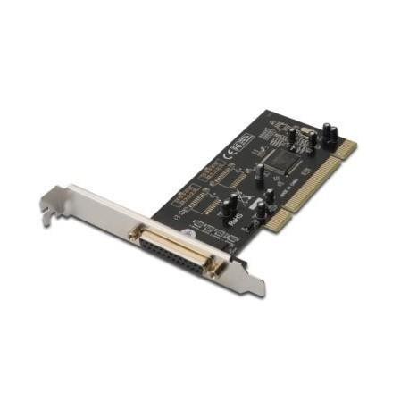 Kontroler LPT/RS232 DIGITUS PCI, 1xLPT 2xDB9, Low Profile, Chipset: MCS9865