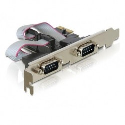Karta PCI EXPRESS Delock COM 9pin x2
