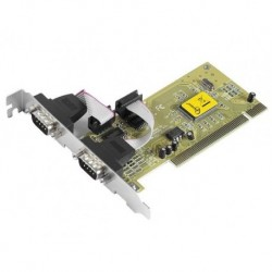 KONTROLER GEMBIRD KARTA PCI SERIAL PORT X2  (COM, RS-232)