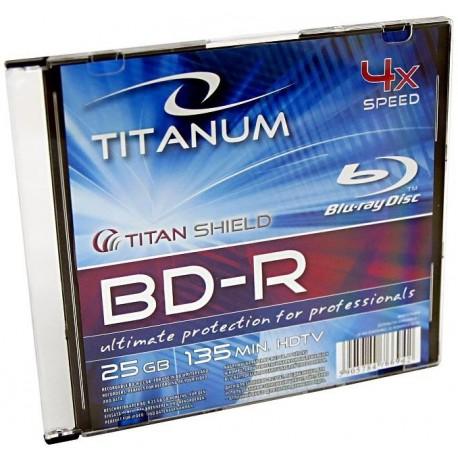 BD-R TITANUM 25GB x4 BLU-RAY SLIM CASE 1