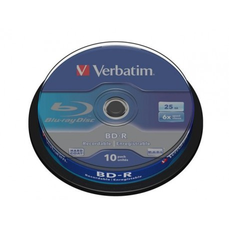 BD-R VERBATIM 25GB X6 (CAKE 10)