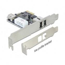 Karta PCI Express Delock 1394A FIREWIRE 2+1