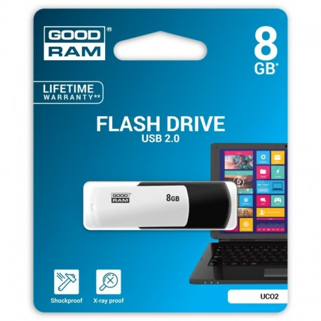 Pendrive GOODRAM COLOUR BLACKandWHITE 8GB Retail 9