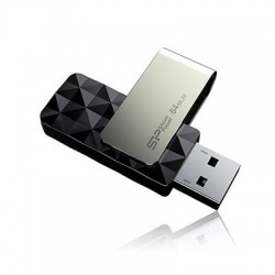 Pendrive Silicon Power 16GB USB 3.0 Blaze B30 Black