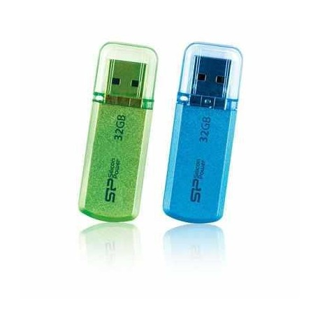 Pendrive Silicon Power 16GB Helios 101 Apple Green
