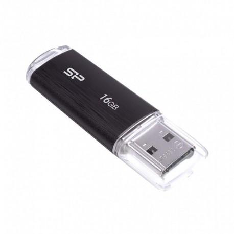 Pendrive Silicon Power ULTIMA U02 16GB 2.0 black plastic