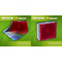 Pudełko SLIM 5,2mm - Kolorowe - Pakiet 10
