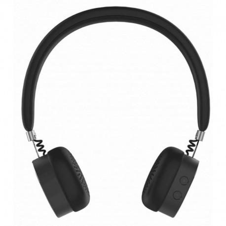 Słuchawki z mikrofonem Manta HDP9003 Bluetooth szare ONYX