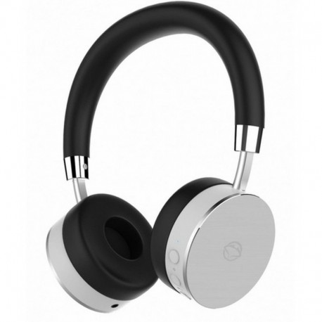 Słuchawki z mikrofonem Manta HDP9012 Bluetooth srebrne FALCON