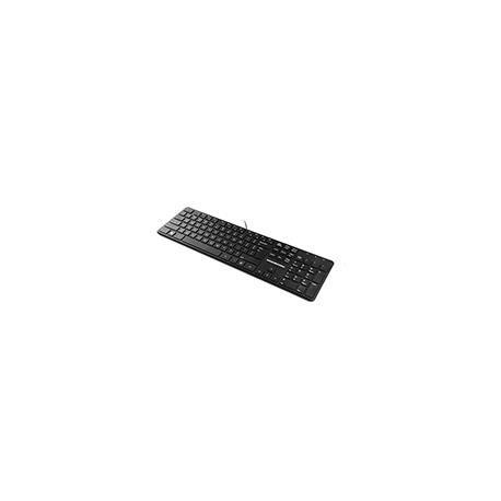 Klawiatura przewodowa Modecom MC-700U czarna