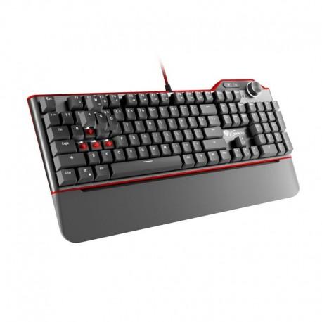 Klawiatura przewodowa Genesis RX85 Gaming białe podświetlenie Kailh Red mechaniczna czarna