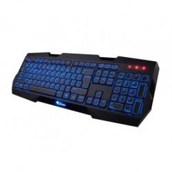 Klawiatura przewodowa GENESIS RX22 Gaming podświetlana czarna