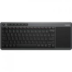 Klawiatura bezprzewodowa Rapoo K2600 touchpad 2,4G szara