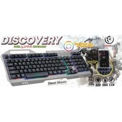 Klawiatura przewodowa dla graczy Rebeltec DISCOVERY USB