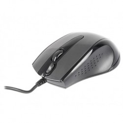 Mysz przewodowa A4Tech N-500F-1 V-Track USB czarno-szara