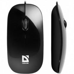 Mysz przewodowa DEFENDER NETSPRINTER MM-440 optyczna 1000dpi czarna