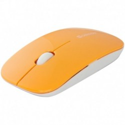 Mysz bezprzewodowa DEFENDER NETSPRINTER MM-545 optyczna 1000dpi pomarańczowa