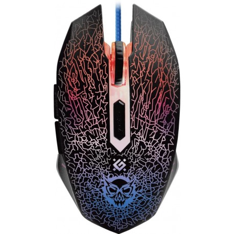 Mysz przewodowa DEFENDER SHOCK GM-110L 3200dpi 6P + podkładka Gaming + GRA