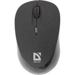 Mysz bezprzewodowa DEFENDER DACOTA MS-155 IR-laserowa 2000dpi 4P czarno-czerwona
