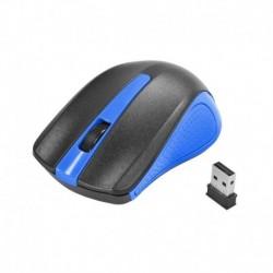 Mysz bezprzewodowa e5 M0353 optyczna czarno-niebieska