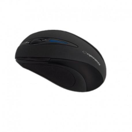 Mysz bezprzewodowa Esperanza Antares EM101K optyczna nano USB czarna