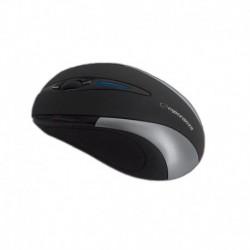 Mysz bezprzewodowa ESPERANZA ANTARES optyczna 3D 2.4GHz czarno-srebrna