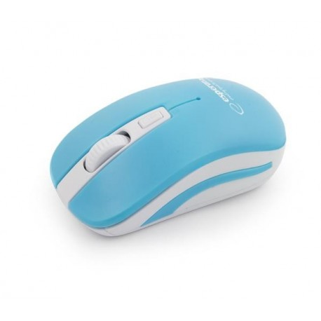 Mysz bezprzewodowa Esperanza Uranus 2.4GHz 4D niebiesko-biała