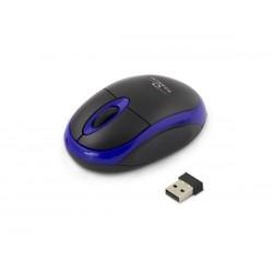 Mysz bezprzewodowa Titanum 3D Vulture optyczna 2.4 GHz czarno-niebieska
