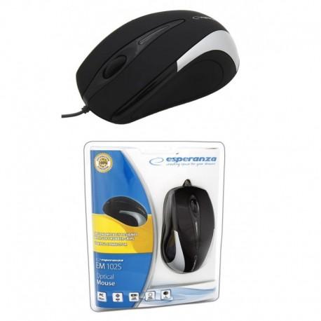 Mysz przewodowa ESPERANZA SIRIUS EM102S optyczna USB srebrna