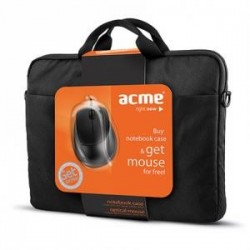 """Torba ACME 16M37 Notebook 15,6"""" + mysz optyczna ACME MS13"""