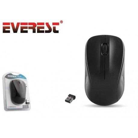 Mysz bezprzewodowa Everest SM-526 optyczna Nano 1200dpi czarna