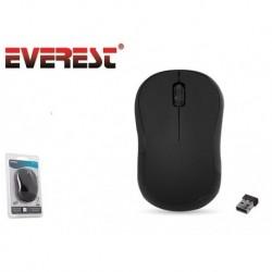 Mysz bezprzewodowa Everest SM-443 optyczna Nano 2.4GHz 1200dpi czarna
