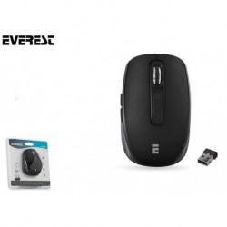 Mysz bezprzewodowa Everest CM-850 Pro optyczna 2.4 Ghz 800-1600dpi czarna