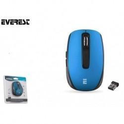 Mysz bezprzewodowa Everest CM-850 Pro optyczna 2.4 Ghz 800-1600dpi niebieski
