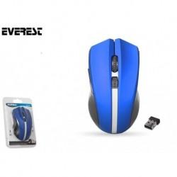 Mysz bezprzewodowa Everest SM-66 optyczna Nano 800-1600dpi 2.4GHz niebieska