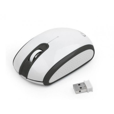 Mysz bezprzewodowa GEMBIRD MUSW-105 optyczna RADIOWA  USB czarno-biała