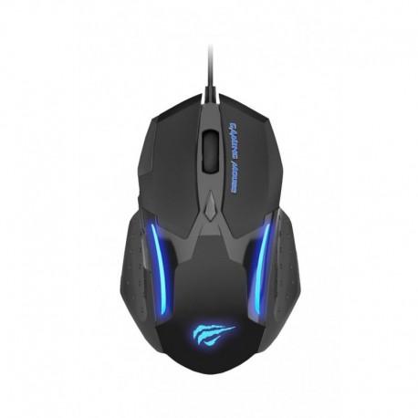 Mysz przewodowa HAVIT HV-MS898 GAMENOTE programowalna, 3200dpi, 7 przycisków, LED , optyczna