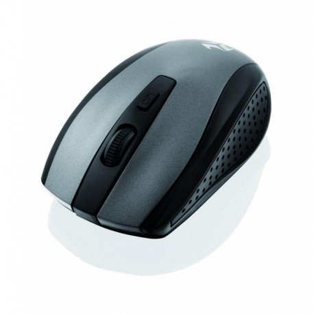 Mysz bezprzewodowa iBOX Finch Pro optyczna czarna-szara