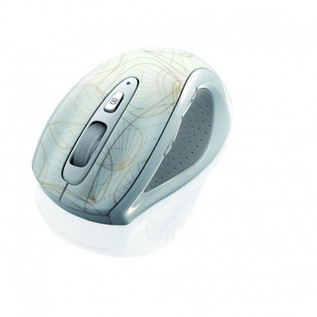 Mysz bezprzewodowa iBOX Gold optyczna biała