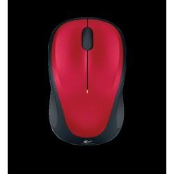 Mysz bezprzewodowa Logitech optyczna M235 czerwona