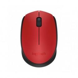 Mysz bezprzewodowa Logitech M171 optyczna czerwona