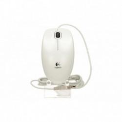 Mysz przewodowa Logitech B100 optyczna biała