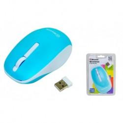 Mysz bezprzewodowa MSONIC MX707B optyczna 3 przyciski 1000dpi niebiesko-biała