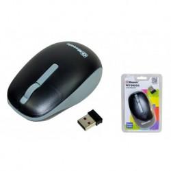 Mysz bezprzewodowa MSONIC MX707K optyczna 3 przyciski 1000dpi czarno-szara