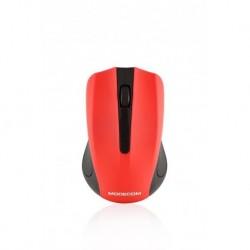 Mysz bezprzewodowa Modecom MC-WM9 czerwono-czarna